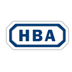 HBA Distribution brand logo with blue text on white background.