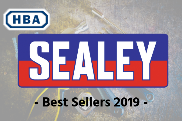 HBA Distributino Sealey Best Sellers Promotion Graphic
