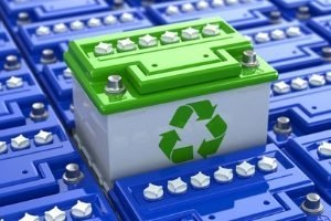 Recyclable car batteries.